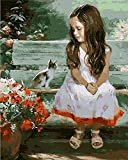 New arrival DIY Oil Painting by Numbers Kit Theme PBN Kit for Adults Girls Kids White Christmas Decor Decorations Gifts