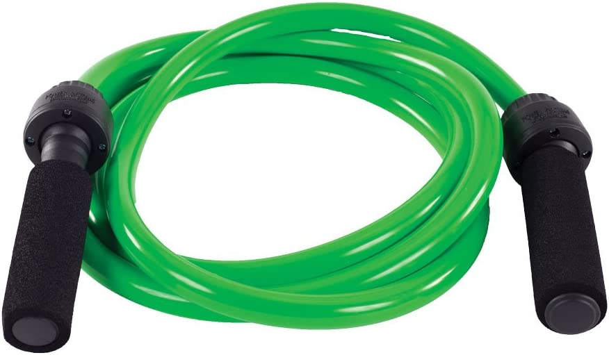 Power Systems PoweRope Weighted Jump Rope, 3 Pound, 9-Foot Length, Green (35503)