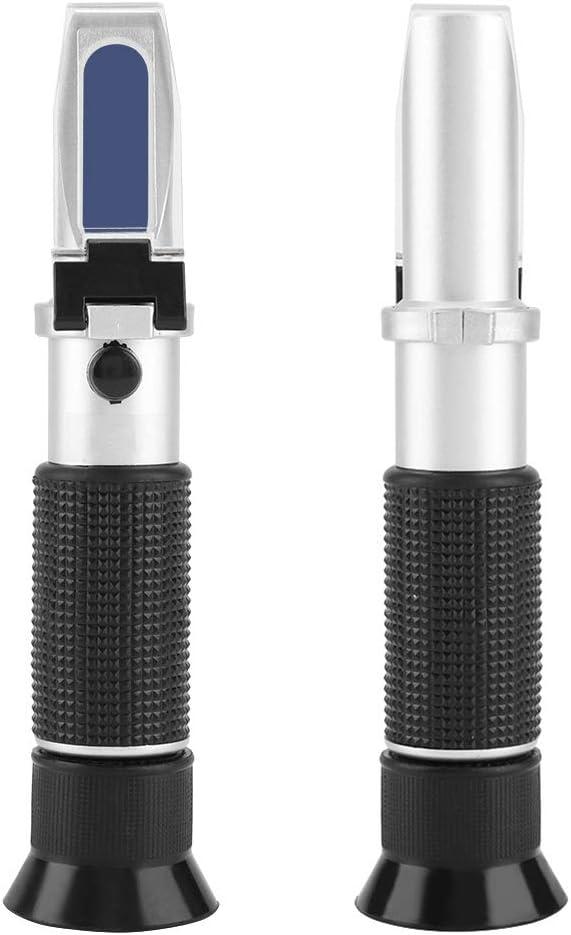 Jeffergrill Tragbare Professionelle 0~20/% Brix Refraktometer Hohe genauigkeit Handbier Fruchtsaft Zucker Tester Meter