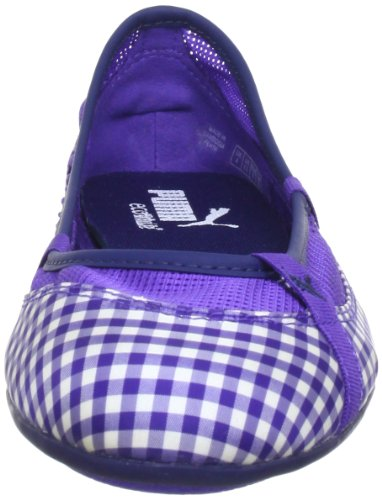 Puma Elsie Gingham 354799, Damen Ballerinas, Violett (liberty blue 03), EU 42.5 (UK 8.5) (US 11) Morado (Violett (liberty blue 03))