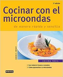 Cocinar Con El Microondas (Spanish Edition): Sabine V ...