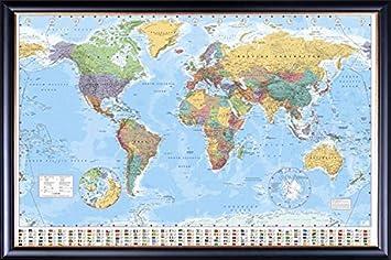 Amazon.com: GB Eye World Map Poster: Posters & Prints
