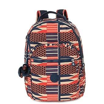 Kipling Seoul Backpack (African print)