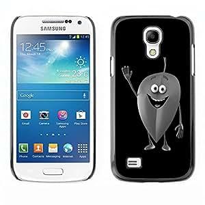 LECELL -- Funda protectora / Cubierta / Piel For Samsung Galaxy S4 Mini i9190 MINI VERSION! -- Friendly Leaf --