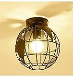 Vintage Geometric Globe Ceiling Light, Decorative Ceiling Light For Living Room, Bedroom, Balcony, Cafe, Bar,Clothing Stores, Warehouses,Hallway Restaurant Interior Lighting