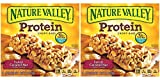 Nature Valley Chewy Granola Bar, Protein, Gluten Free, Salted Caramel Nut, 5 Bars (2 Boxes)