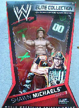 WWE Collector Elite DX Shawn Michaels Figure Series #7 by Mattel