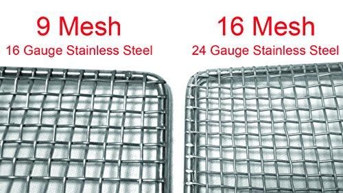 10 pc DN-FS23N Stainless Steel Donut Frying Screen 23'' x 23'' (9 Mesh) by EquipmentBlvd (Image #1)