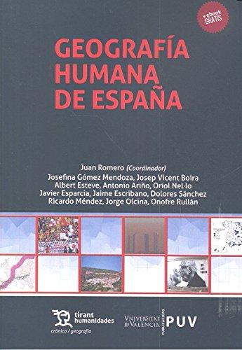 Geografía Humana de España Curso de Introducción Crónica: Amazon.es: Ariño Villarroya, Antonio: Libros