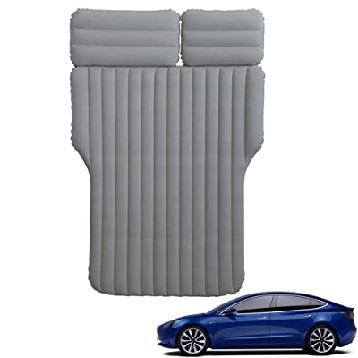 BASENOR Tesla Car Inflatable Air Mattress Portable Camping Bed Cushion for Tesla Model 3 Model Y Model S Model X Accessories Gen 2: Automotive