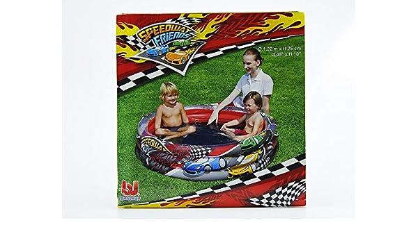 M & M MARS Piscina Hinchable redonda Speedway cm.122 x H25 ...
