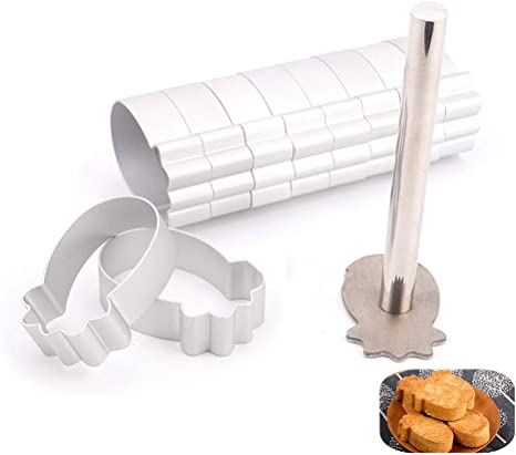 Craft Cutter Fondant Shaped Stamp Cookie Baking Cake Mold Plastic Cake Mould