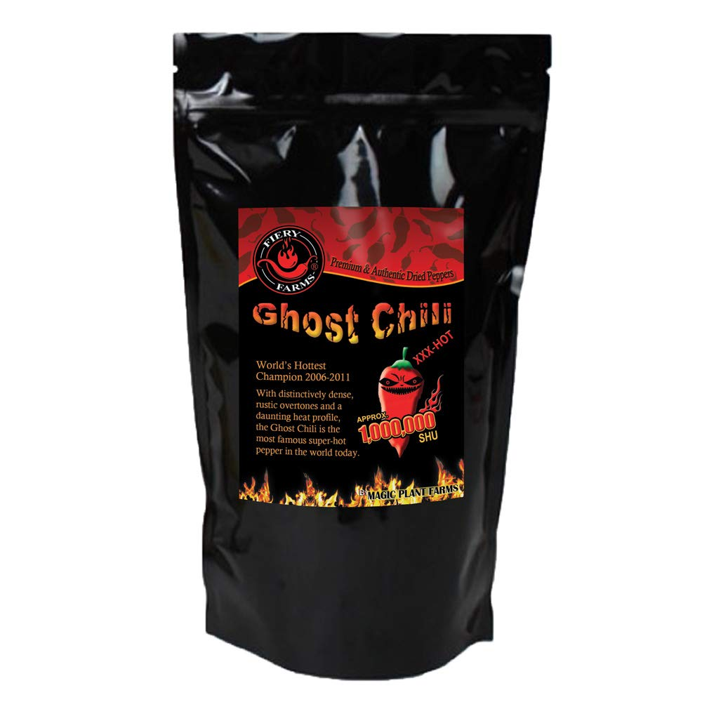 Bhut Jolokia Crushed | Ghost Pepper Flakes (2oz)