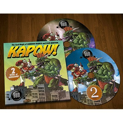SOLOMAGIA Kapow! by Cameron Francis and Liam Montier - DVD ...