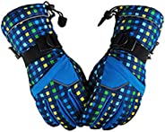 Ski Gloves Outdoor Sports Cycling Gloves Waterproof Winter Warm Snow Gloves for Mens, Womens
