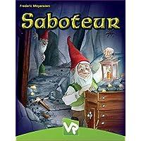 VR Games 63390 Saboteur Card Game Card Game, Pack of 1