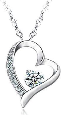 GITECH Très Beau Collier Femme Swarovski Elements - Collier Coeur  Etoile-Bijoux Femme est composé d'une Chaine et d'un Pendentif sertie de  Cristaux ...
