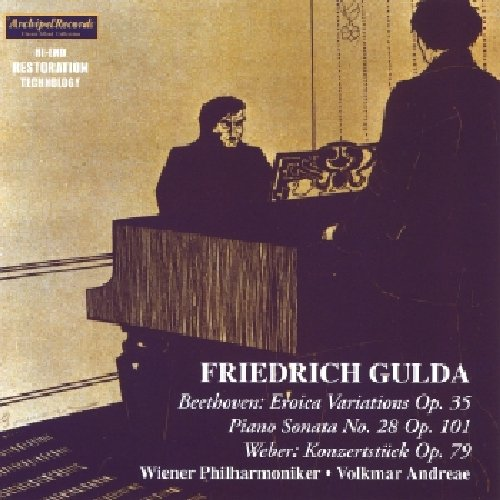 CD : Friedrich Gulda - Piano Sonatas (CD)