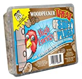 C and S Products Woodpecker Treat Suet Plug, 12-Piece