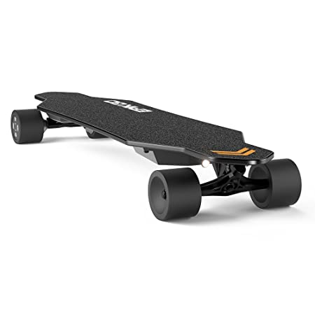 EPIKGO Electric Longboard Skateboard with Dual-Motor Smart Skateboards (7 Ply Bamboo Board) and Wireless Remote - Portable Cruiser Skate Board for Rider