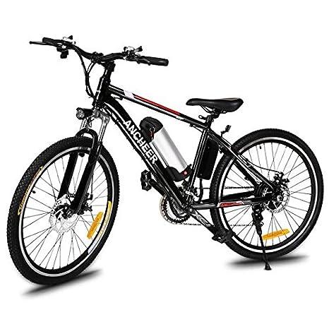 Swift E-Bike bicicleta plegable Mountain Bike Bicicleta eléctrica 36 V/250 W, 26 pulgadas, Eléctrico bicicleta de montaña de 21 velocidades desmontable ...