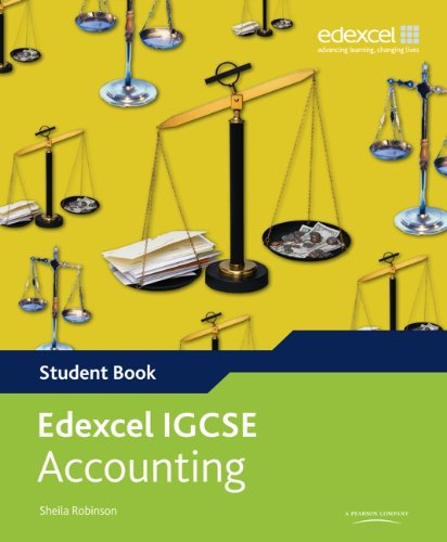 Download Edexcel International GCSE Accounting Student Book with ActiveBook CD pdf epub