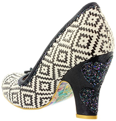 Irregular Choice - Zapatos de vestir de Material Sintético para mujer Blanco - blanco