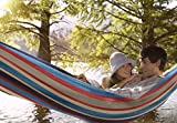 Sorbus Double Hammock with Steel Stand Two Person