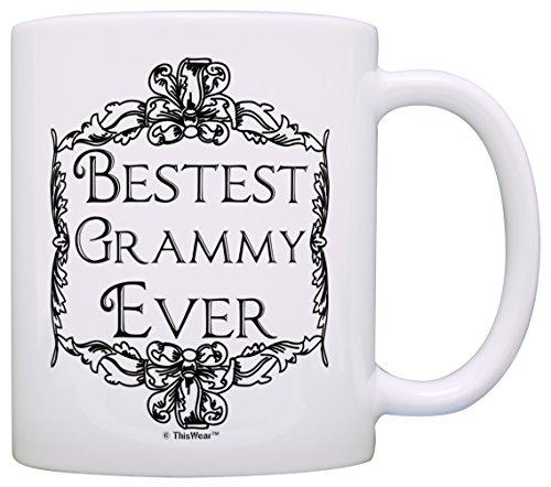 Mothers Grandma Bestest Grammy Coffee