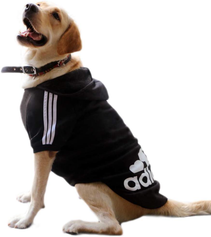 mittelgro/ße Hunde DOXMAL Adidog Hund Pullover Haustier Hundekleidung Adidog Kost/üme T-Shirt Warm Pullover Mantel Pet Kleidung f/ür kleine