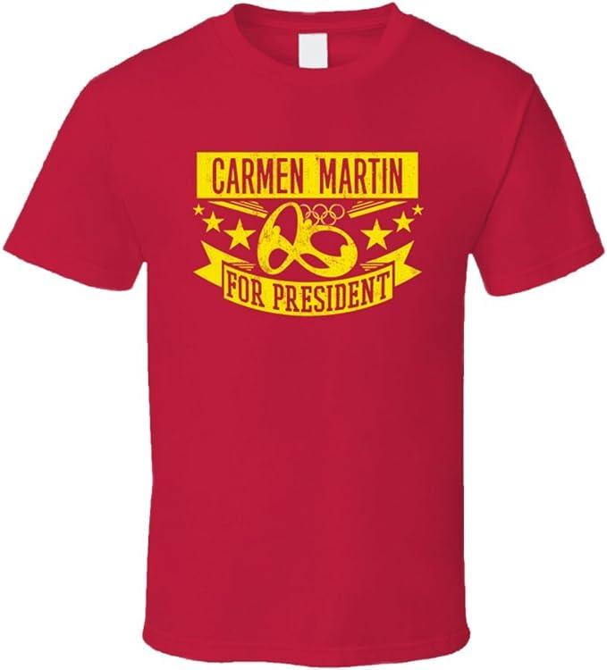 Carmen Martin para Presidente España balonmano T Shirt: Amazon.es ...