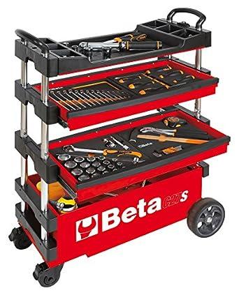 Amazon.com: Beta Tools C27S-R - Carrito de herramientas ...