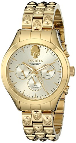 Invicta Women's 16939SYB Angel Analog Display Swiss Quartz Gold Watch