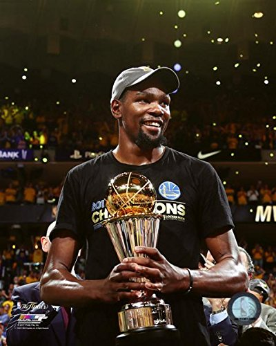 2caf28688652 Golden State Warriors 2017 NBA Champions Kevin Durant Finals MVP Trophy  8 quot  x 10 quot