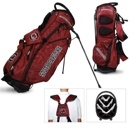 NCAA South Carolina Gamecocks Fairway Golf Stand Bag (Towel South Carolina Gamecocks Golf)