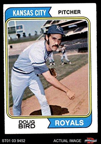 1974 Topps # 17 Doug Bird Kansas City Royals (Baseball Card) Dean's Cards 4 - VG/EX Royals
