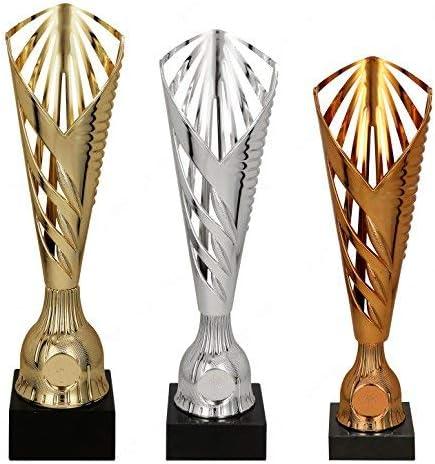 Coppa Economica in ABS bronzato h 30,00 cm Targhetta Personalizzata Omaggio Coppe e trofei per premiazioni Sportive