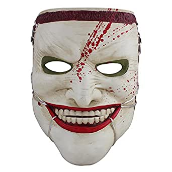 Charmgle Halloween Scary Clown Mask Party Horror Movie Killer Masks For Mascara Carnaval