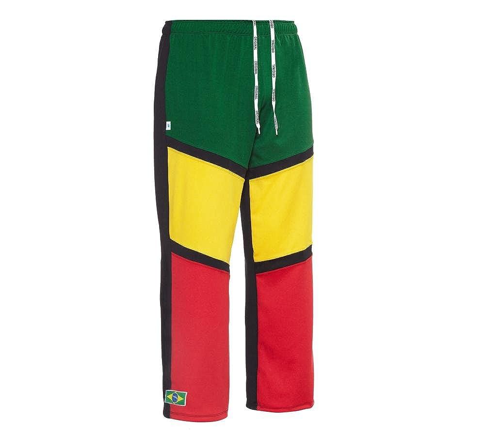 Jlsport - Pantalon Elastique Unisexe Noir Reggae Capoeira Arts Martiaux