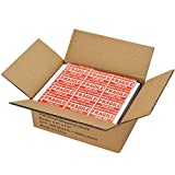 MFLABEL 1600 Shipping Labels White Blank Half Page
