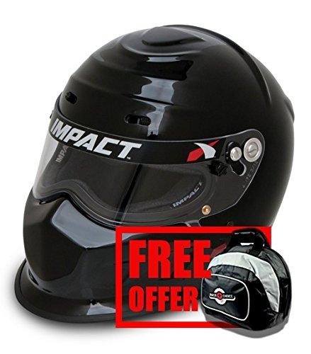 Impact Racing 13015610 Champ Helmet SA2015 Certified X-Large - Free Deluxe Helmet Bag ()