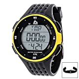 Best Heart Rate Monitor Watch Without Chest Strap For Men - RBX Active RBXHR001BK Digital Heart Rate Monitor Review
