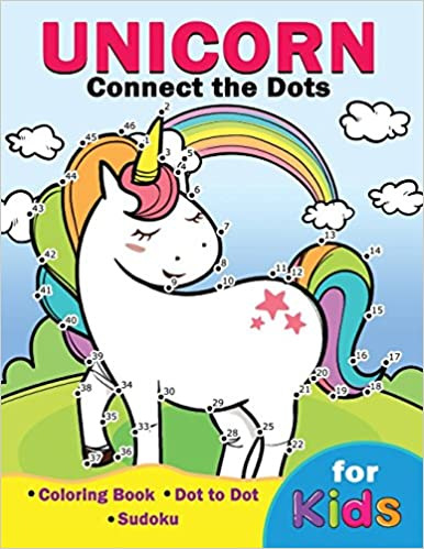 Unicorn Connect the Dots for Kids: Easy and Fun Activity Learning ...