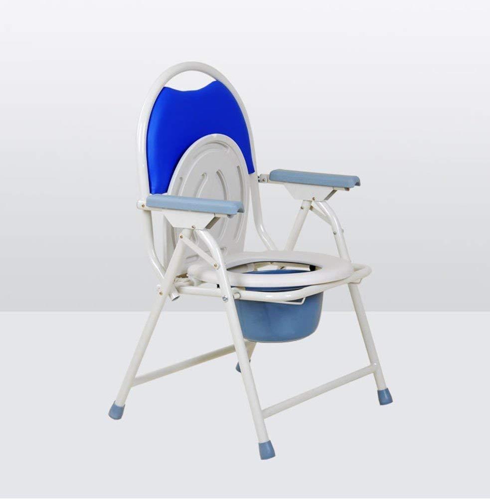 ACHKL Chest of Drawers Saint-seat, Thicker Tubular Steel Foldable Detachable Comfortable Waterproof Slip Resistant to Elderly People of Pregnant Women Slip Resistant sulphonylurea