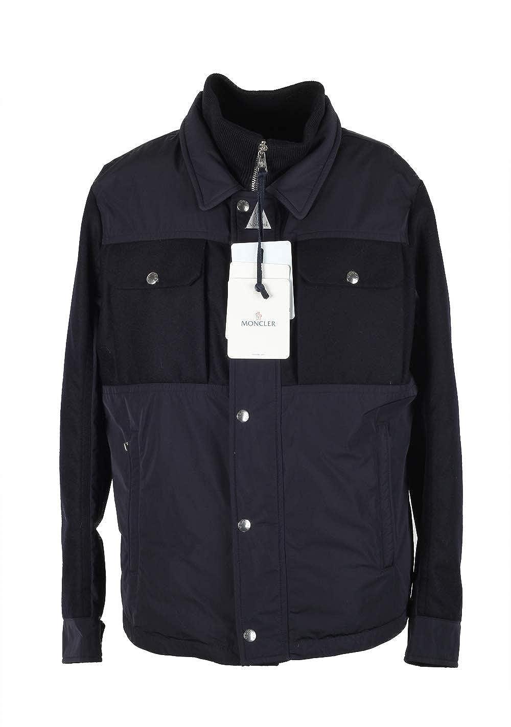 MONCLER Cl Blue Beaufort Utility Jacket Coat Size 4 / L / 52/42 U.S.: Amazon.es: Ropa y accesorios