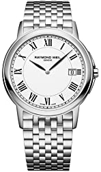 Raymond Weil Men's Tradition White Dial Stainless Steel