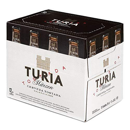 Turia Märzen Cerveza Tostada – Caja de 12 Botellas 25cl