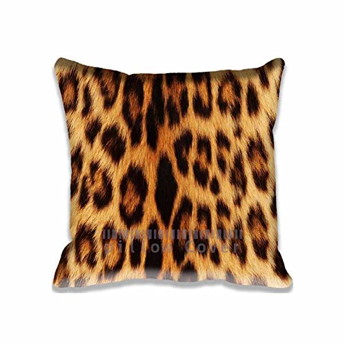 Aero Glider (Custom Design Leopard Pillow Cases Zippered , Standard Size Aero Pillowcase - 20X20inch Patterns Cushion Covers Two Size)