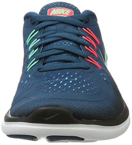 898476 Nike Femme Sneakers Basses Verde azul Multicolore ACRwqC