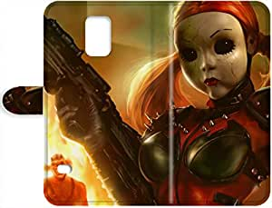 Christmas Gifts 4838974PJ311179088S5 the Leather Case Shop- twisted metal dollface Leather Rubber Hard Back Leather Case Silicone Cover Skin for Samsung Galaxy S5 Robert Taylor Swift's Shop